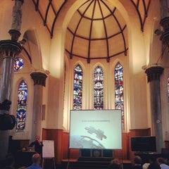 Photo taken at Vlerick Business School by Stefaan L. on 12/18/2012