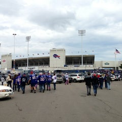 Photo taken at Ralph Wilson Stadium by Michael B. on 9/15/2013