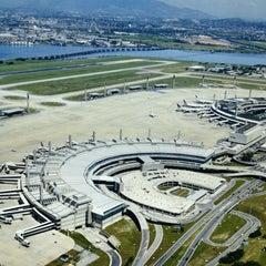 Photo taken at Aeroporto Internacional do Rio de Janeiro / Galeão (GIG) by Hélio G. on 10/18/2013
