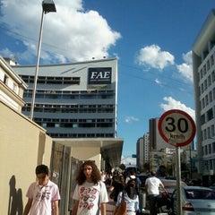 Photo taken at FAE Centro Universitário - Prédio I by Jean S. on 11/28/2012
