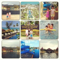 Photo taken at Khaolak Seaview Resort & Spa (เขาหลักซีวิวรีสอร์ทแอนด์สปา) by Thiti T. on 1/19/2013