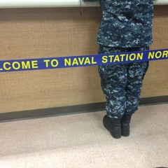 Photo taken at Naval Station Norfolk Pass and I.D. Office by Vanna Boo on 10/9/2012