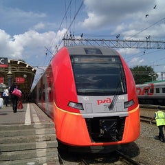 Photo taken at Курский вокзал / Kursky Rail Terminal by Vsevolod B. on 7/12/2013