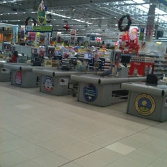 Photo taken at Carrefour by Rosane F. on 12/9/2012