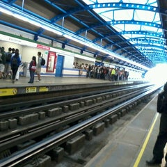 Photo taken at Metro San Joaquín by Anibal T. on 3/14/2013