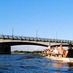 Photo taken at John Philip Sousa Bridge by Benjamin F. on 12/5/2012