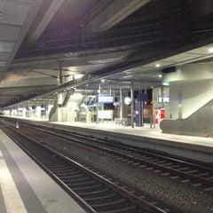 Photo taken at Bahnhof Berlin Südkreuz by Maxim N. on 4/13/2013