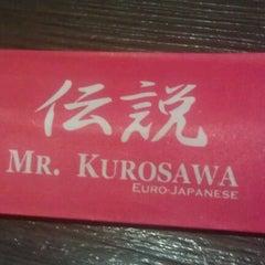 Photo taken at Mr. Kurosawa by Lhon C. on 10/19/2012