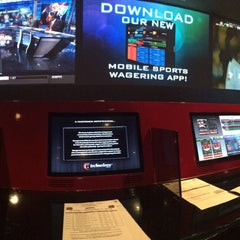 Photo taken at Race & Sports Book by Casey G. on 11/2/2014