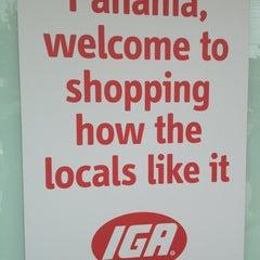 Photo taken at Lloyds IGA Panania by Paula N. on 1/20/2013