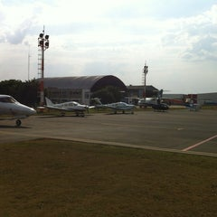 Photo taken at Aeroporto Estadual Campo dos Amarais (CPQ/SDAM) by Vinicius F. on 10/4/2012