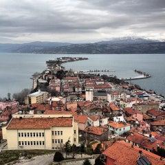 Photo taken at Eğirdir by Mehmet Y. on 12/28/2012