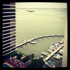 Photo taken at Miami Marriott Biscayne Bay by Michelle L. on 5/29/2013