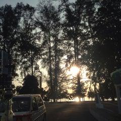 Photo taken at Pantai Seri Cahaya Port Dickson by Solly S. on 1/16/2015