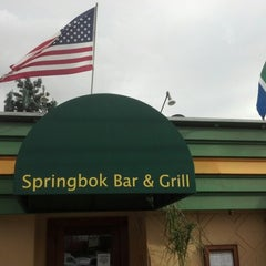 Photo taken at Springbok Bar & Grill by The M. on 12/23/2012