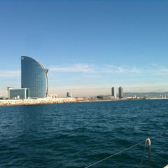 Photo taken at OneOcean Port Vell Barcelona by Fernando P. on 3/19/2013