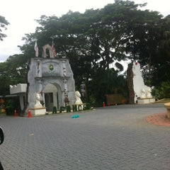 Photo taken at A'Famosa Main Entrance by alexCyang on 8/8/2013