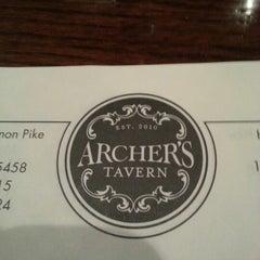 Photo taken at Archer's Tavern by Greg K. on 10/18/2012