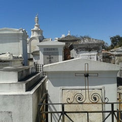 Photo taken at St. Louis Cemetery No. 1 by 席子 on 3/12/2013