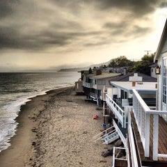 Photo taken at Malibu Public Beach by Ken R. on 6/2/2013