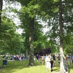 Photo taken at Food Truck Friday @ Tower Grove Park by Chris B. on 6/14/2013