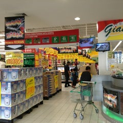Photo taken at Giant Hypermart by Filand F. on 12/5/2012