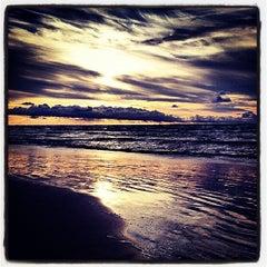 Photo taken at Majoru pludmale | Majori beach by Marija S. on 7/20/2013