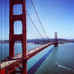 Photo taken at Golden Gate Bridge by Josiah R. on 5/17/2013