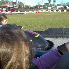 Photo taken at Lil 500 Go Karts by Ryan J. on 2/17/2013
