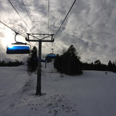 Photo taken at Mount Snow Main Base Lodge by Josh P. on 2/22/2013