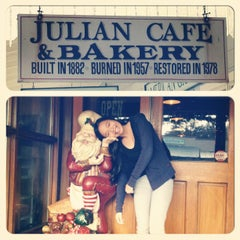 Photo taken at Julian Cafe & Bakery by Melissa R. on 12/1/2012