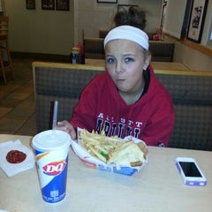 Photo taken at Dairy Queen by Carrie F. on 1/15/2013