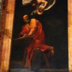 Photo taken at Chiesa di San Luigi dei Francesi by Valerio B. on 9/25/2012