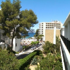 Photo taken at Hotel Osiris Ibiza by Dirk K. on 5/16/2013