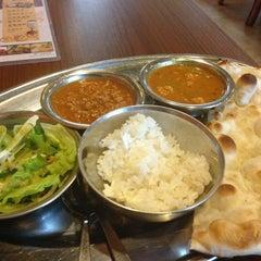 Photo taken at GANESHA Restaurant by Takashi I. on 3/16/2013
