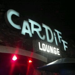 Photo taken at Cardiff Lounge by Andrea Castaneda on 1/20/2012