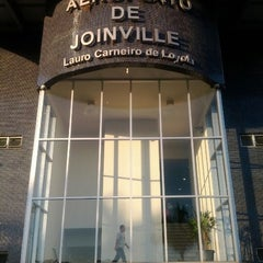 Photo taken at Aeroporto de Joinville / Lauro Carneiro de Loyola (JOI) by Carlos Eduardo on 3/8/2012