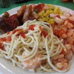 Photo taken at Sakura Seafood Buffet by Erik D. on 1/20/2014