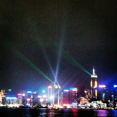 Photo taken at Symphony of Lights 幻彩詠香江 by Konstantin V. on 11/11/2012