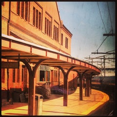 Photo taken at New London Union Station by Bree S. on 4/21/2013