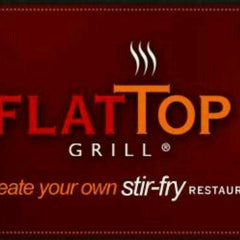 Photo taken at Flat Top Stir-Fry Grill by Penny on 12/28/2012