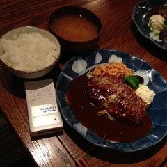 Photo taken at 俺のハンバーグ 山本 恵比寿本店 by TheYossy on 7/18/2013