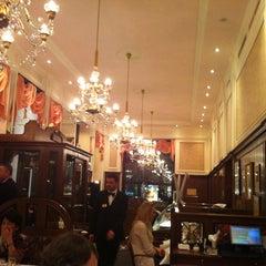 Photo taken at Café Mozart by Саша Б. on 3/16/2013