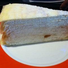 Photo taken at Nadeje Cafe by Christopher D. on 12/30/2012