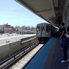 Photo taken at CTA - 35th/Archer by Sabrina M. on 5/7/2013