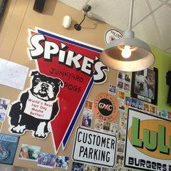 Photo taken at Spike's Junkyard Dogs by Brandi M. on 4/21/2013
