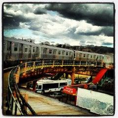Photo taken at MTA Subway - Cypress Hills (J) by Trevor L. on 3/26/2013