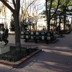 Photo taken at Pearl Street Mall by Eric S. on 1/20/2013