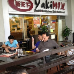 Photo taken at YakiMix Sushi & Smokeless Grill by WengCat22 . on 6/20/2013