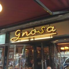 Photo taken at Café Gnosa by Michael K. on 8/3/2013